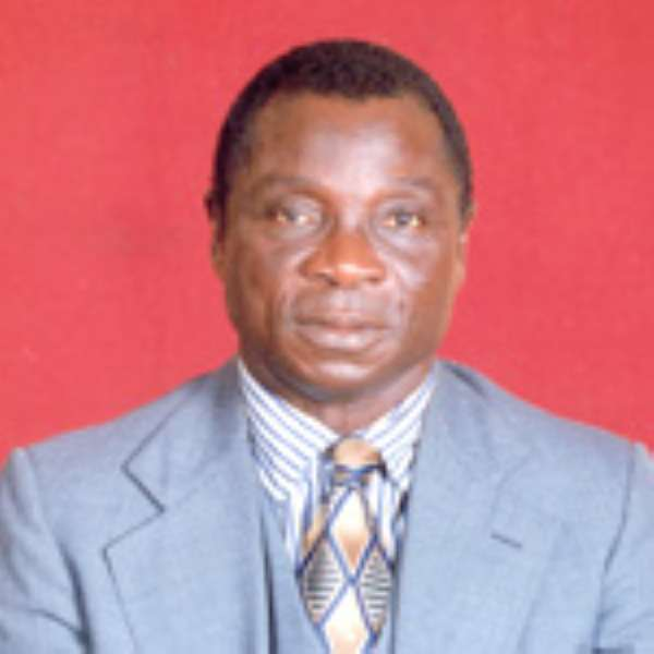 Prof Dominic Fobih, Minister for Lands, Forestry and Mines